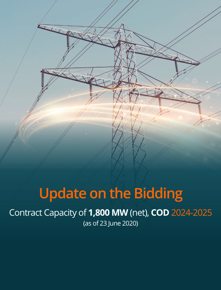 Bidding Update July 30 2020