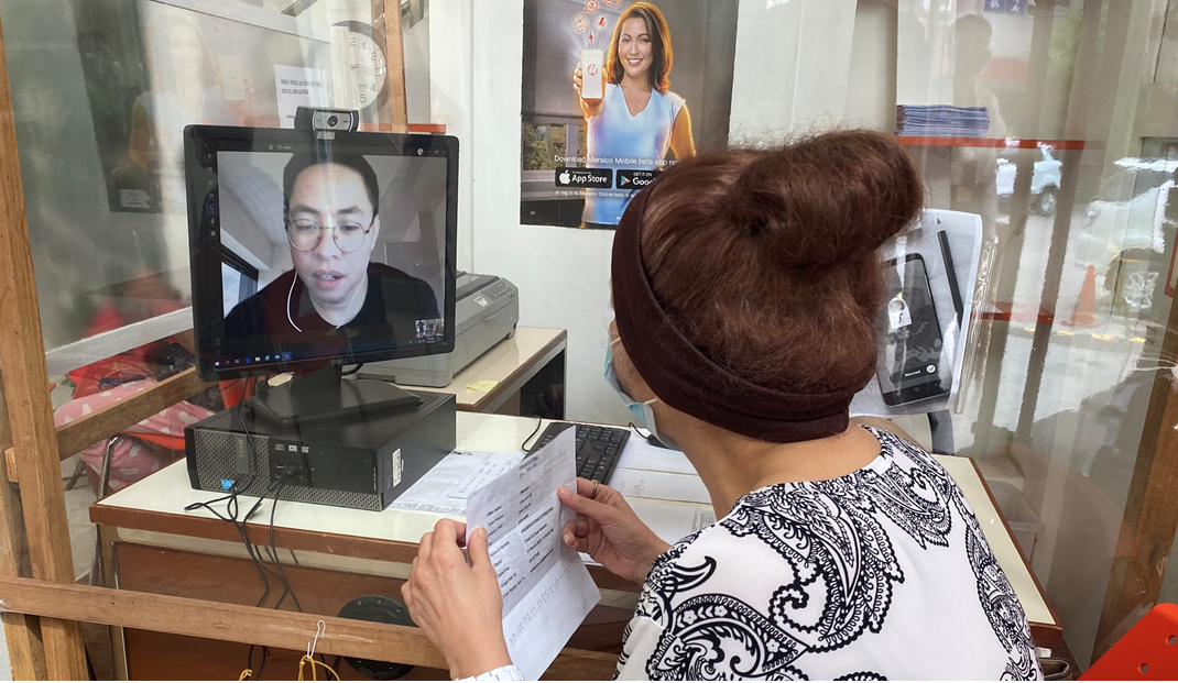 Meralco's virtual customer assistant