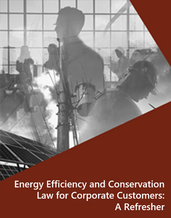 Energy Efficiency and Conservation Law for Corporate Customers